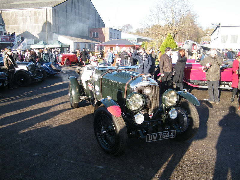 Brooklands New Year's Day 2013 - 1929 Bentley 4-1/2 litre Le Mans