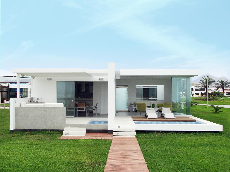 Casa en playa palabritas tecno haus - Limpieza en casas ...
