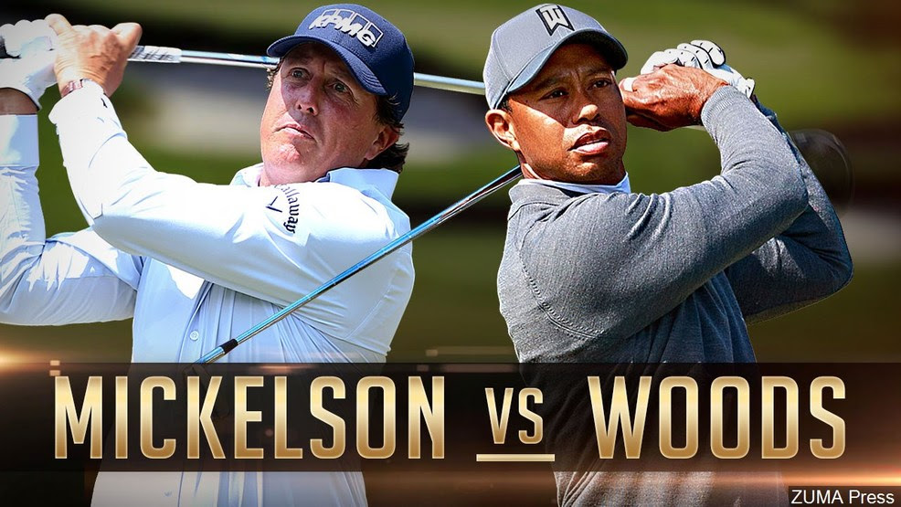 Mickelson V Woods?
