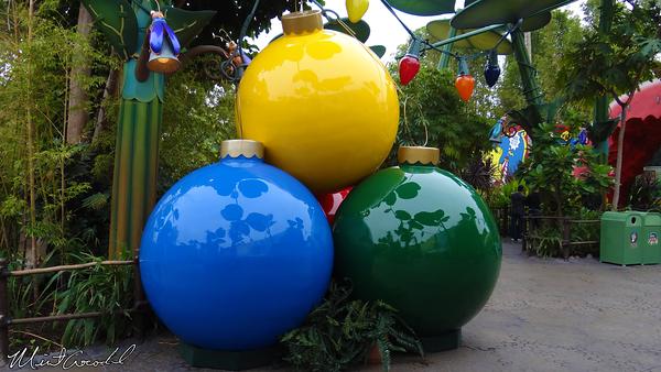 Disneyland Resort, Disney California Adventure, Flik's Fun Fair, Christmas, Christmas Time