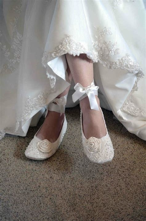 Picture Of Gorgeous Vintage Wedding Shoes