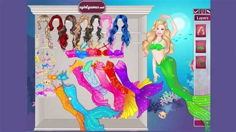 1  Barbie Mermaid Game  Game for girls   Dress Up Games