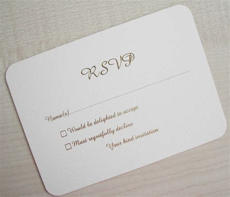 Turid's blog: COM shows a pretty RSVP card that has space