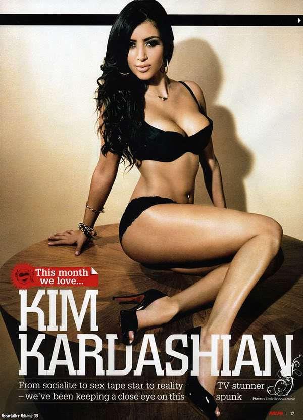 Kim Kardashian-Ralph Magazine-May 2008 - Sexy Actress Pictures | Hot Actress Pictures
