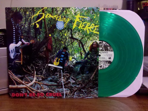 Something Fierce - Don't Be So Cruel LP - Green /200