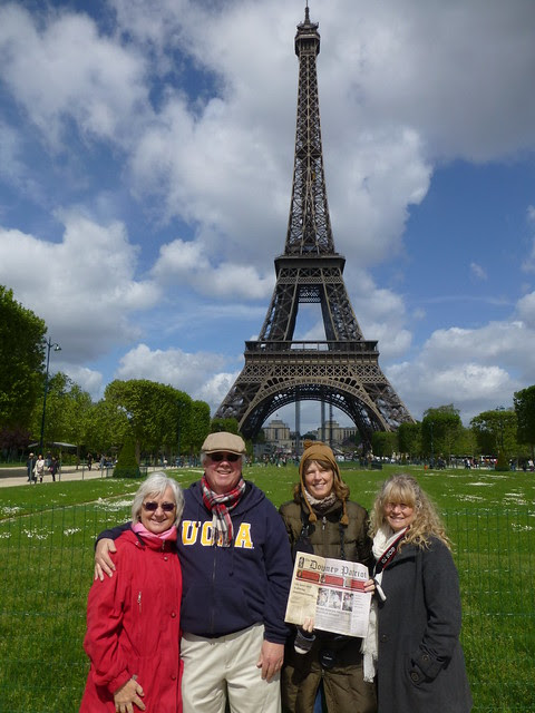Eiffel Tower with Downey Patriot