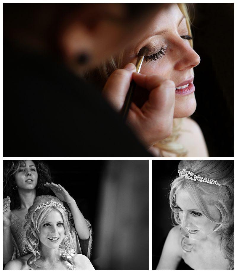 Weddings at Fanhams Hall 3, Wedding make-up