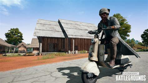 pubg update  adds beryl  gun sanhok scooter