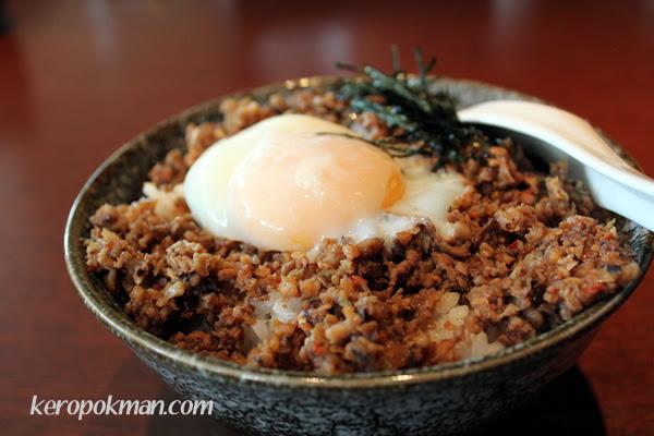 Tan Tan Don with Onsen Tamago