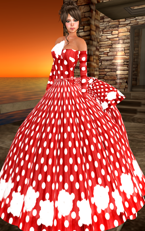[LI] Rosanna Evening Gown - Money Fever Game 1L