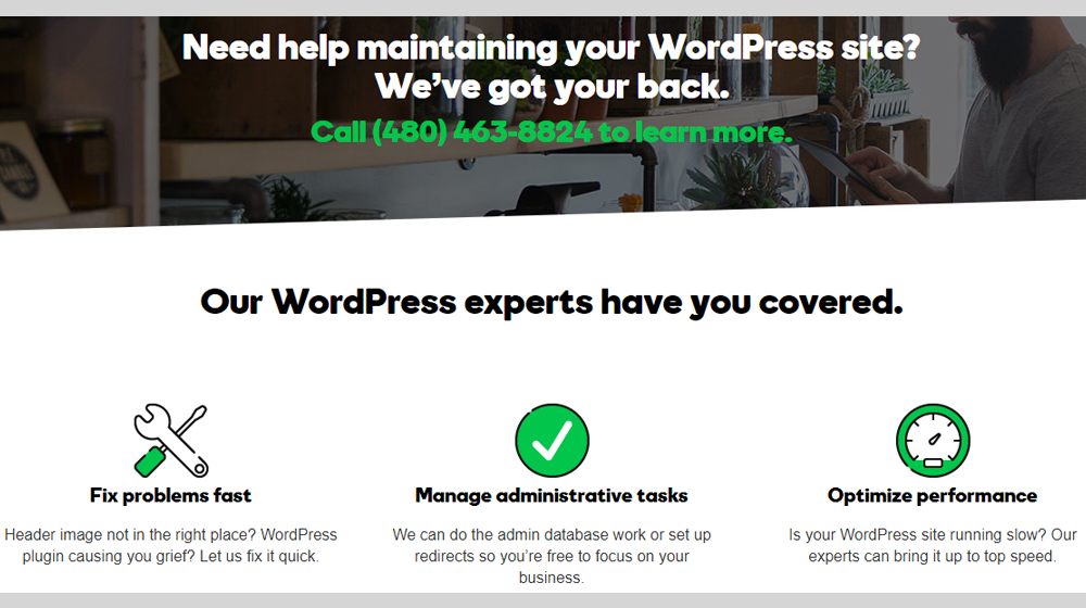 GoDaddy WordPress Premium Support Now Available for Small Business Site Owners and Administrators