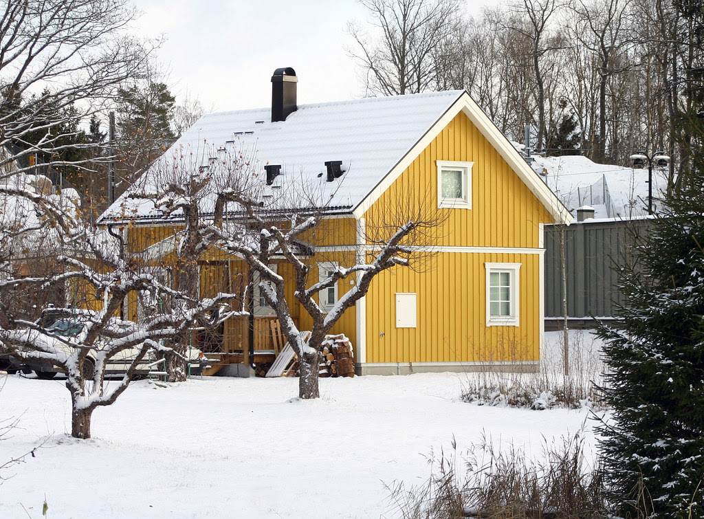 A Yellow Cottage