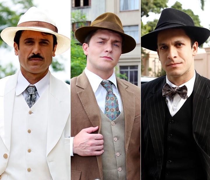 Trio de galãs e... cafajestes: Ernesto, Romeu e Celso (Foto: Gshow)