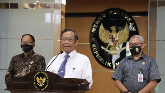 Ada 5 Jenderal saat Pengumuman FPI Dibubarkan :  Nasional