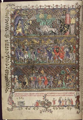 The Romance of Alexander 21v MS. Bodl. 264