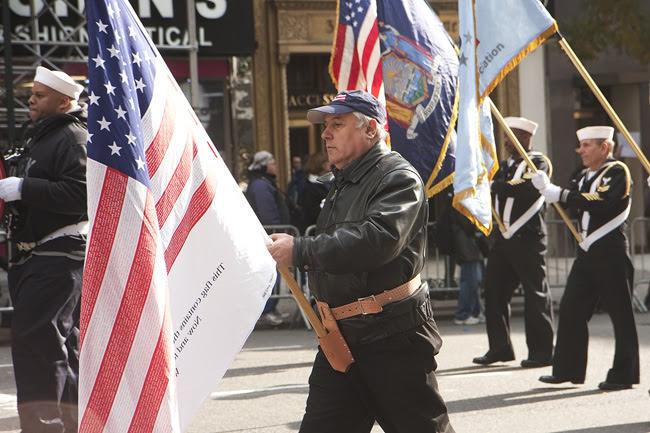 Veteran's Day Parade, NYC