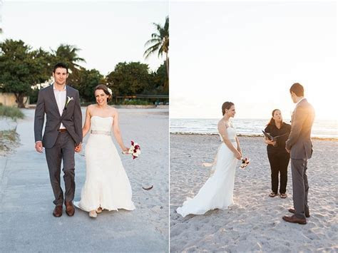 Eloping in Miami. Affordable sunrise beach wedding at