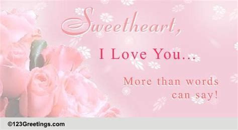 Love You More Than Words Can Say  Free Romance Awareness