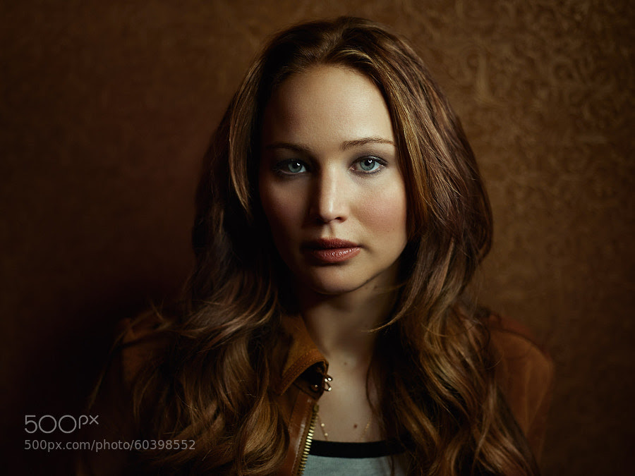 Photograph Jennifer Lawrence by Joey L. on 500px