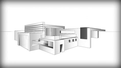 home buildings sketch   draw  beautiful house step