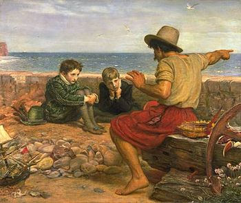 English: The Boyhood of Raleigh, 1871