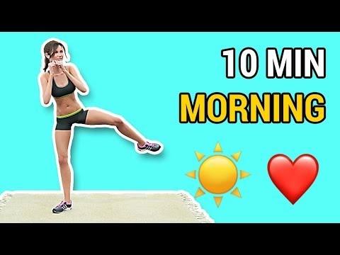 Αύξηση της ενέργειας και κάψιμο λίπους με μόλις 10  τέλειες πρωινές ασκήσεις