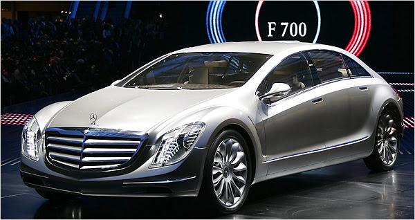 Prototip de Mercedes-Benz F700. AP