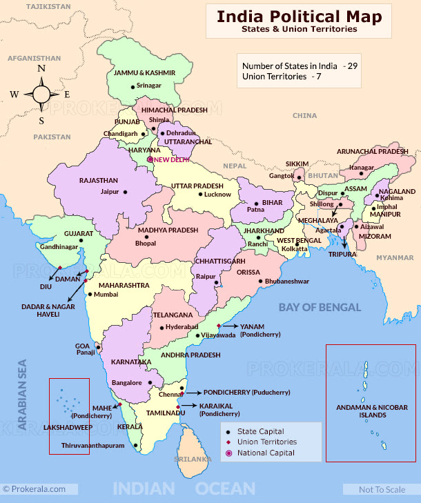 India Map India Political Map India Map With States