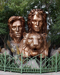 Siegfried & Roy Statue