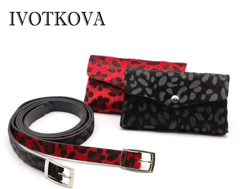 162b85eafdaf9 Kaufen Billig IVOTKOVA Frauen Gürtel Tasche Leopard Mode Taille Packs 2018  Neue Designer Taschen Handtasche Und Geldbörsen Fanny Preise Online