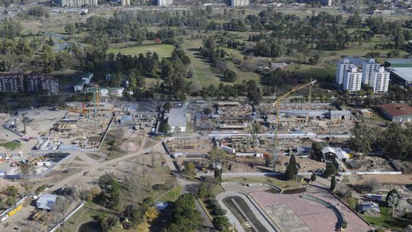 La Villa Olímpica de los Juegos de la Juventud 2018 en el ex Parque de la Ciudad. Foto: NESTOR GARCIA