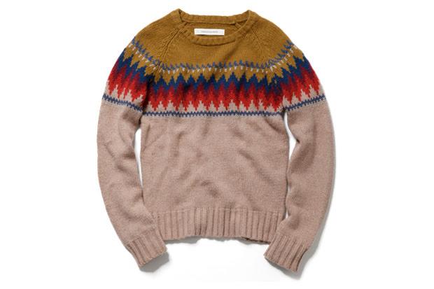 inpaichthys kerri tribal crew neck sweater Inpaichthys kerri TRIBAL CREW NECK SWEATER
