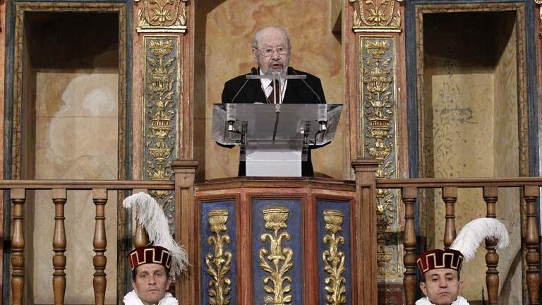 Discurso íntegro de José Manuel Caballero Bonald al recibir el Premio Cervantes