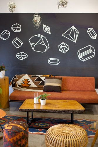 Home: Eleven Washi Tape Interiors Ideas  (via bash, please: Jeanette & Justin on Design*Sponge)
