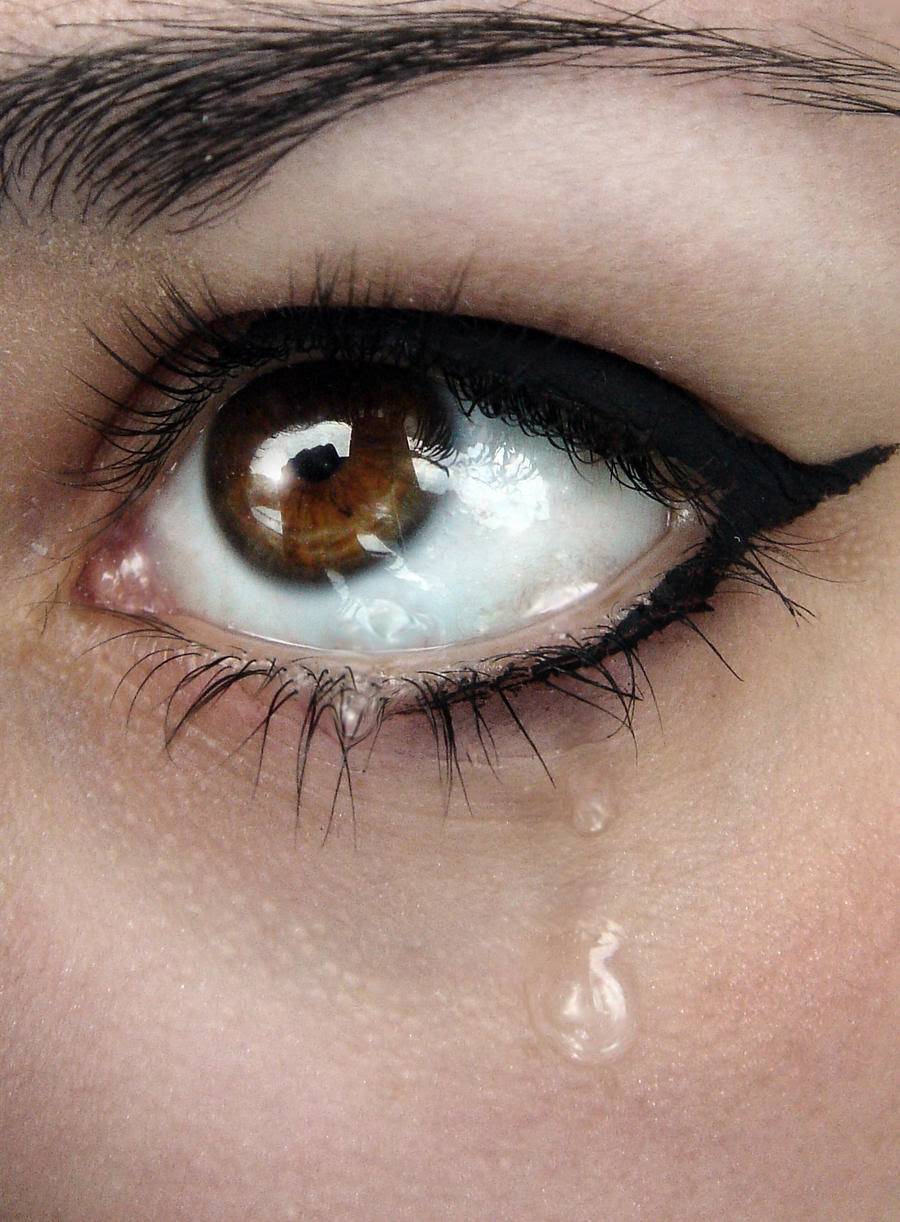 Images Of Crying Eyes Girl With Quotes Daily Health