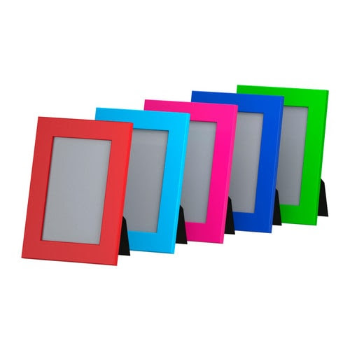 NYTTJA Frame IKEA Front protection in durable plastic; makes the frame safer to use.
