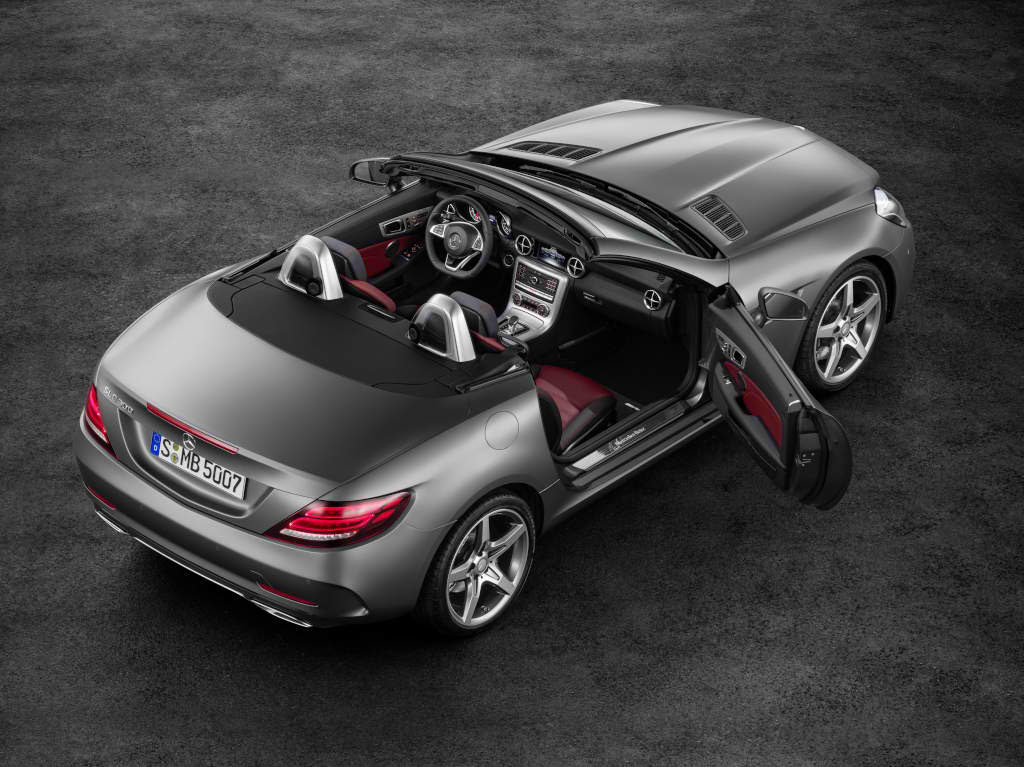 How Much Does the New Mercedes-Benz SLC Cost?