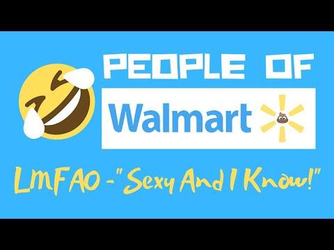 video que muestra a clientes del supermercado walmart