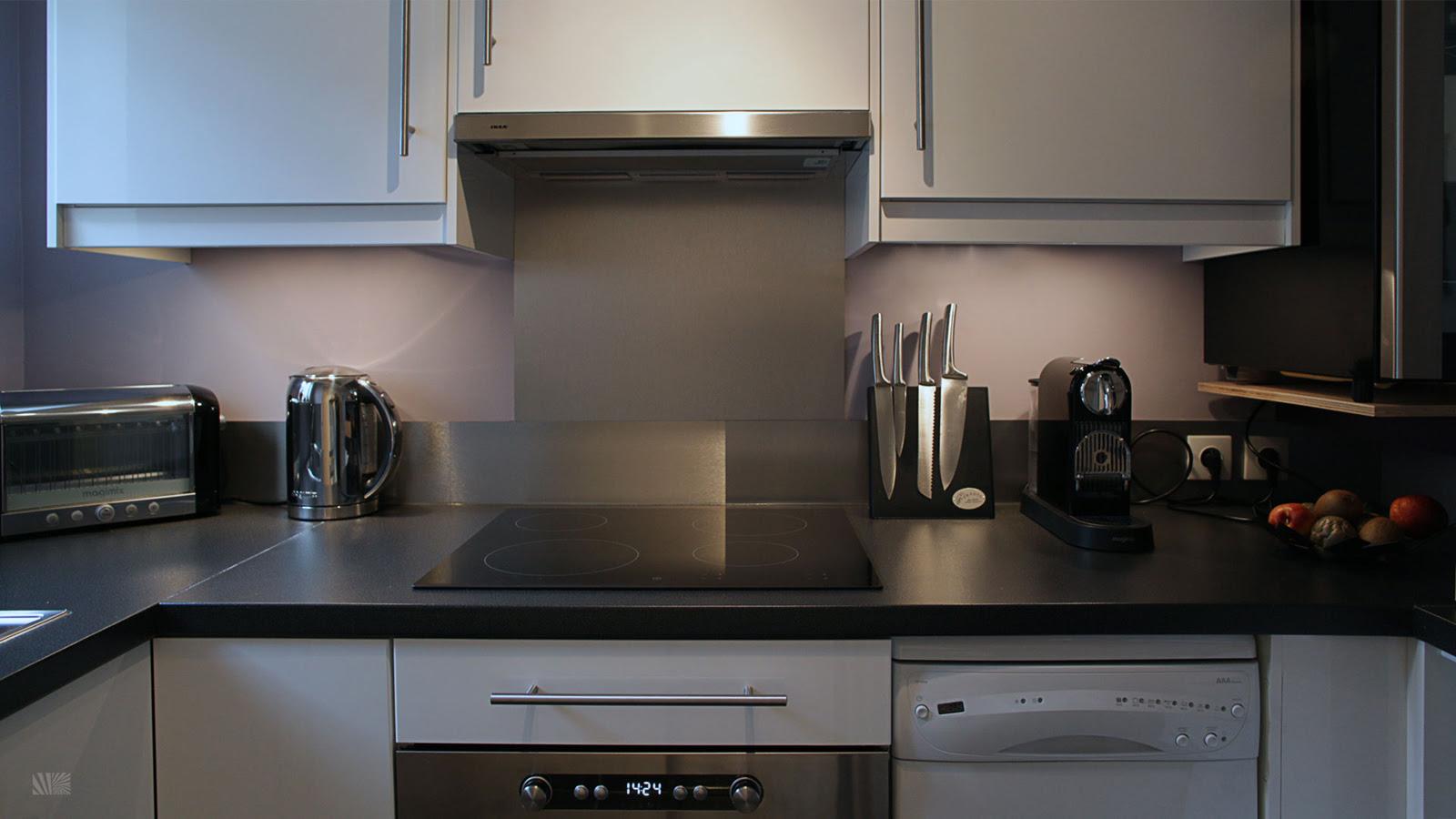 Stylish IKEA Kitchen For Small Space | iDesignArch | Interior ...