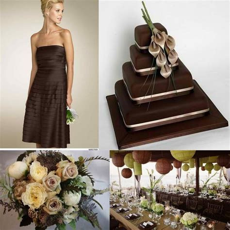1000  ideas about Brown Wedding Cakes on Pinterest