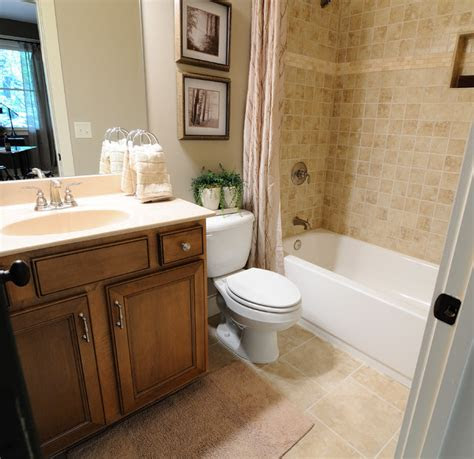 big canoe model homes contemporary bathroom atlanta