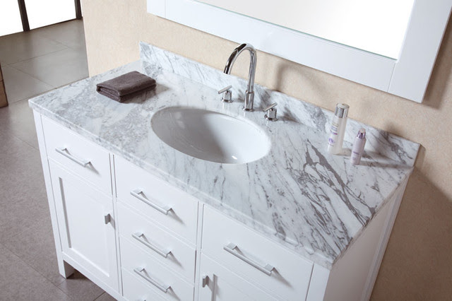 White Bathroom Vanities - bathroom vanities and sink consoles