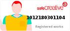 Safe Creative #1012180301104