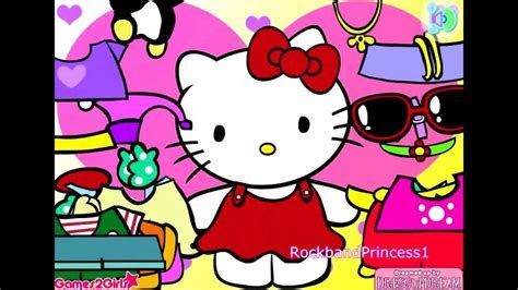 Hello Kitty Online Games Hello Kitty Clothing Dress Up