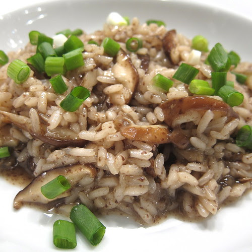 Asian-Inspired Mushroom Risotto
