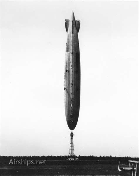 "Today in 1927 -- U.S.S. Los Angeles does a ""Handstand"