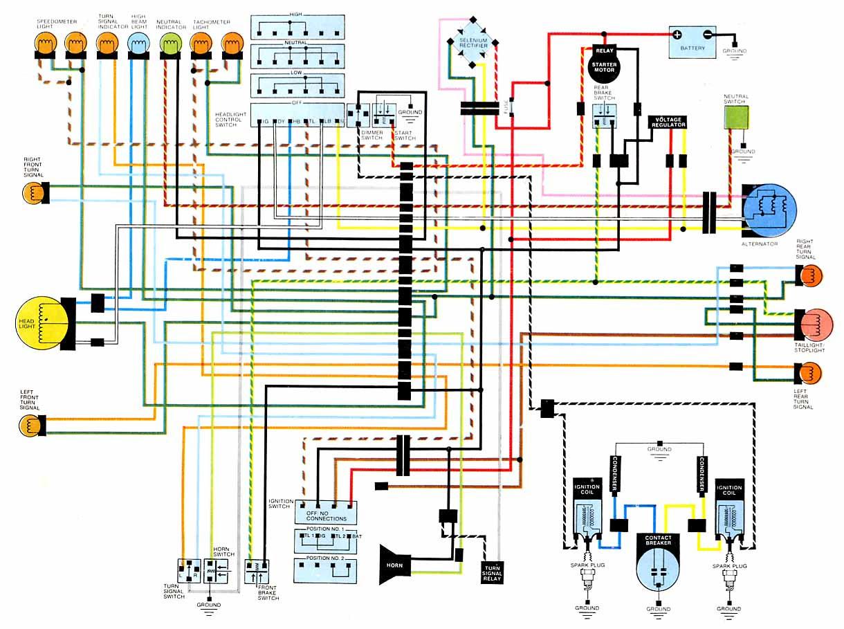 CB500T starter electrical problem