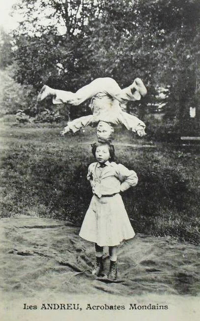 Jose & Nena Andreu, ca 1906
