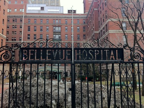 gate, Bellevue Hospital