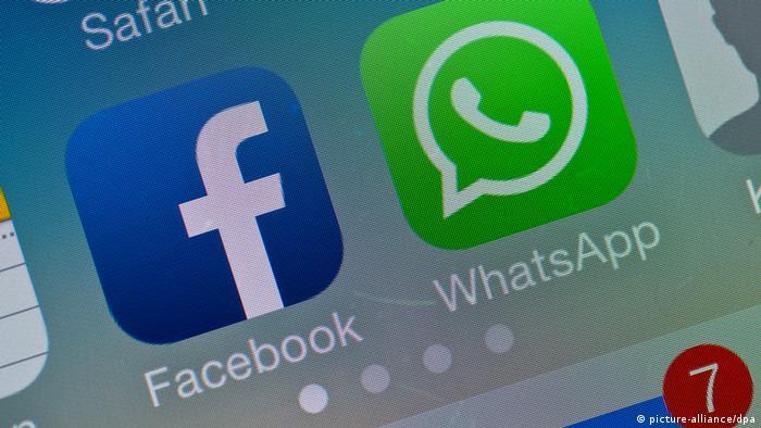 Symbolbild Facebook kauft WhatsApp